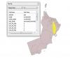نوع التحليل المكاني بنظم المعلومات الجغرافية الذي تم إجراءه في الشكل الذي أمامك