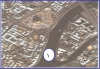 عند تحليلك للصورة الفضائية المجاورة بصريا فإن الظاهرة المشار إليها بالرقم ( 1 ) تعرف بـ